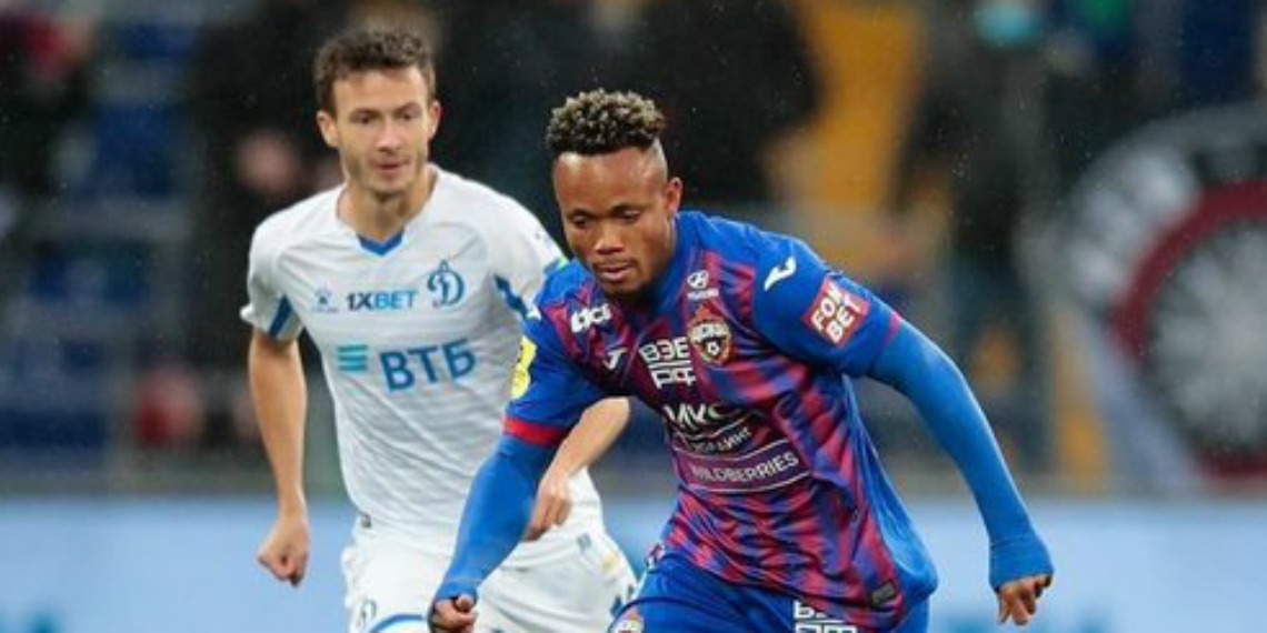 Ejuke scores again for CSKA Moscow to win classic Moscow Derby - Score Nigeria
